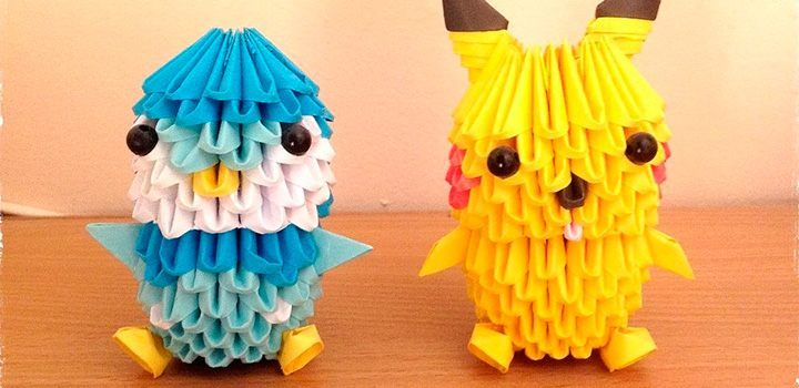 Figuras Pokemon de papel