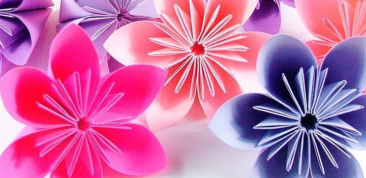 Flores de papel :: Imágenes y fotos